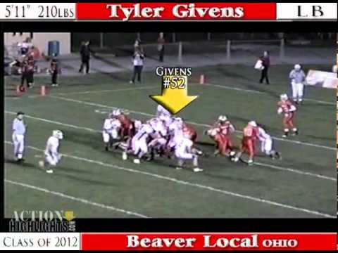 2012 Tyler Givens - LB