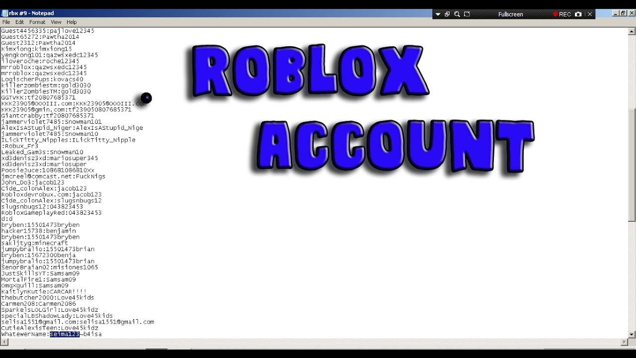 free old roblox accounts