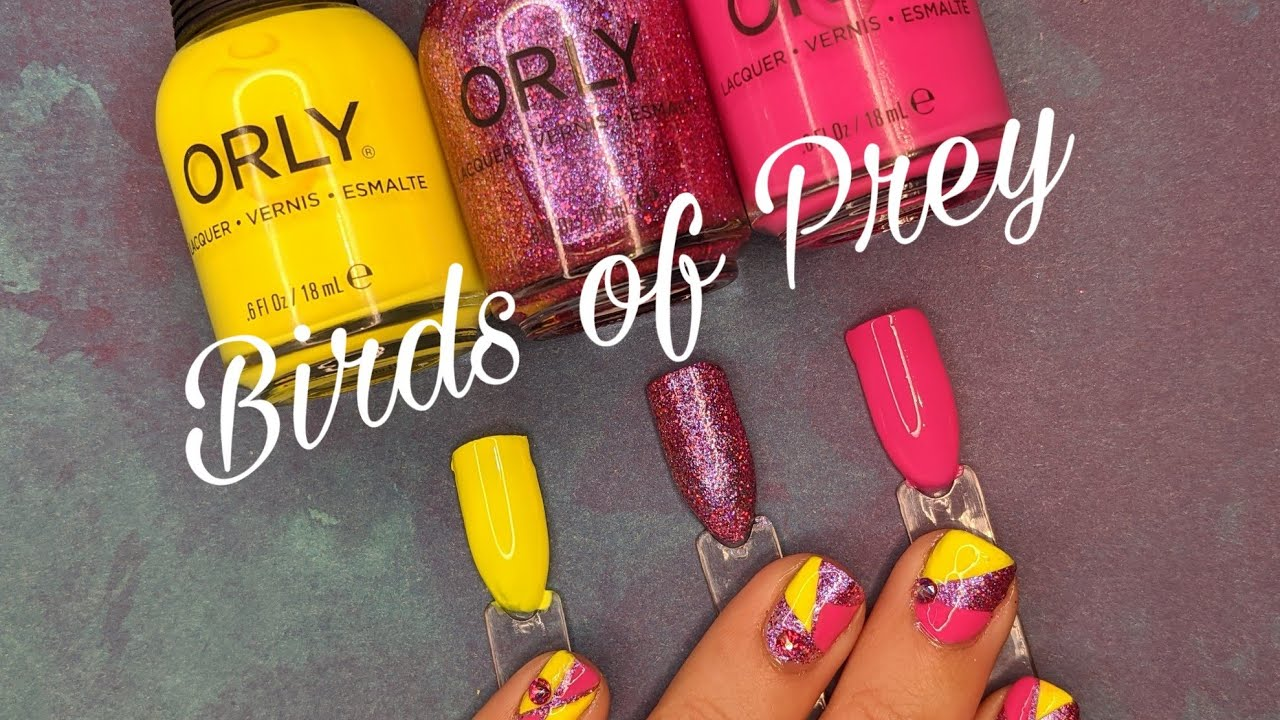 Orly Birds Of Prey Live Swatch And Review With Nail Art Youtube
