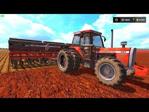 BOTANDO PRESSÃO NO PLANTIO DE MILHO | Farming Simulator 17 thumbnail