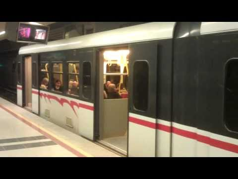 [HD] Izmir Metro (Turkey) - Ucyol Direction