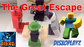 The Great Escape! (Roblox Stop Motion Toy Animation)