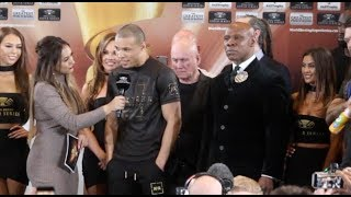 'I WILL KNOCK GEORGE GROVES OUT COLD!' - CHRIS EUBANK JR ISSUES WARNING AFTER WEIGH-IN