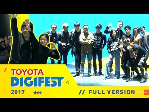Toyota Digifest 2017 :  [FULL VERSION]