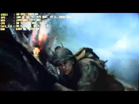 Call Of Duty: WWII/2 - I5 4460 - R9 380 2GB - 8GB - 1080p Test