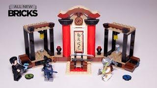 Lego Overwatch 75971 Hanzo vs. Genji Speed Build