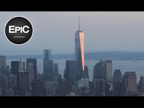 Wall Street & Lower Manhattan - New York City, USA (HD)