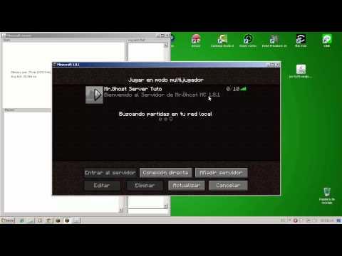 Como Crear y Configurar Server Minecraft 1.8.1 Sin Hamachi Premium y No Premiums