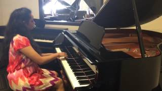 Richa Patel plays 50th anniversary piano medley