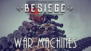 Besiege - Machine Gun Concept & Tank Tracks [v0.05]