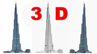 Tallest Structure in The World - Burj Khalifa 3D Model