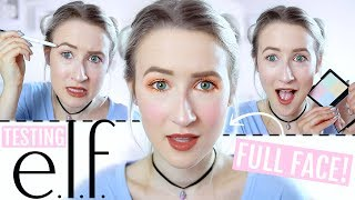 Testing E.L.F Makeup | Sophie Louise