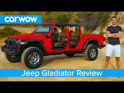 Jeep Gladiator 2020 in-depth review – see why it's the coolest 4×4 EVER!