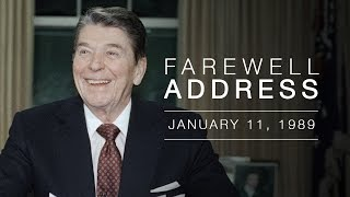 Farewell Speech - President Reagan