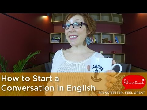 how to talk in english conversation