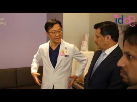 Short tour of ID Hospital with Dr Park for Kuwait's Health Minister!