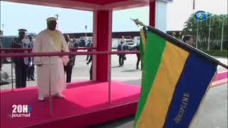 De?part du Pre?sident de la Re?publique Ali Bongo  en Guine?e Equatoriale pour est en ...