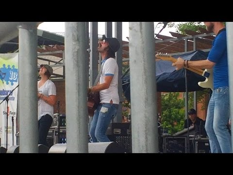 Gareth Asher Performs at Suwanee Town Center Park in Suwanee, GA