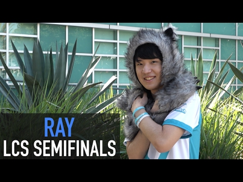 C9 Ray on reaching the finals in his first NA LCS playoffs, and his desire to play TSM