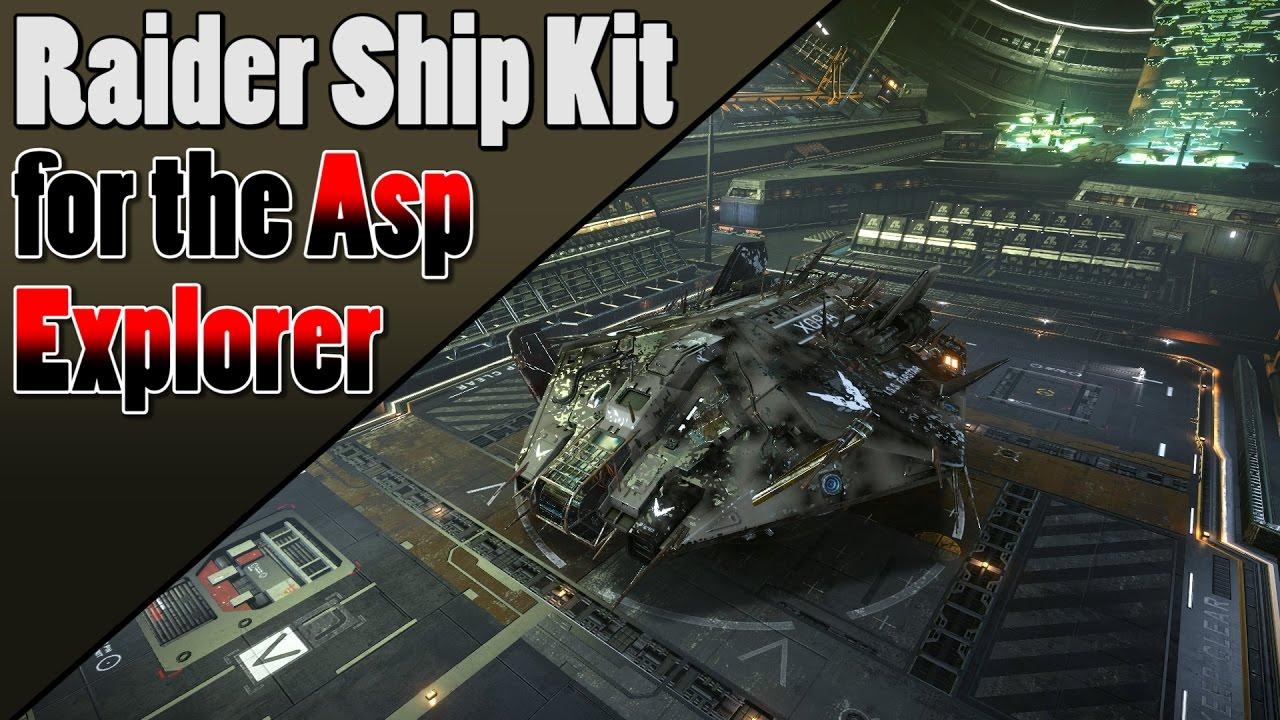 Elite Dangerous - Asp Explorer Raider Ship Kit