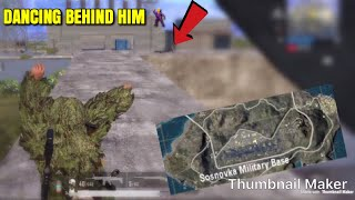 MILITARY IS SO AWESOME - PUBG Mobile - Dancing Behind Him