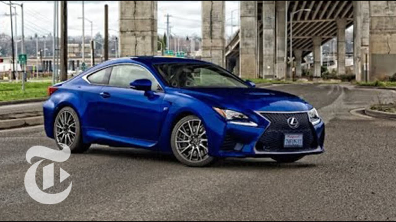 2016 Lexus Rc F Driven Car Reviews The New York Times