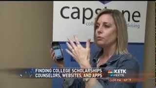 Texas College Guidance Counselors Promote Scholly App