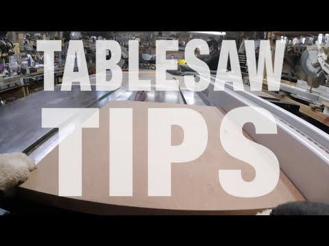Essential Table Saw Tips and Hacks You Need To Know