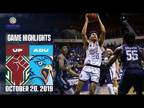 UP vs. AdU - October 20, 2019 | Game Highlights | UAAP 82 MB