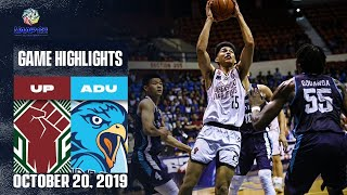 UP vs. AdU - October 20, 2019  | Game Highlights | UAAP 82 MB