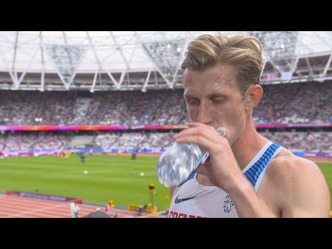 WCH 2017 London - Jack Green GBR 400 Metres Hurdles Heat 5