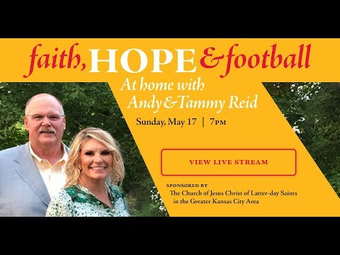 Faith, Hope & Football - At home with Andy & Tammy Reid