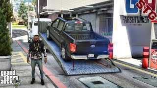 2019 F150 DELIVERY   SHOPPING FOR MY SISTER  (GTA 5 REAL LIFE MODS)