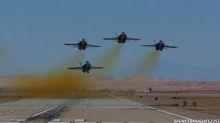 2014 NAF El Centro Air Show - U.S.N. Blue Angels Take-Off