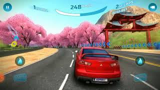 Mitsubishi race game multiplayer online Asphalt nitro