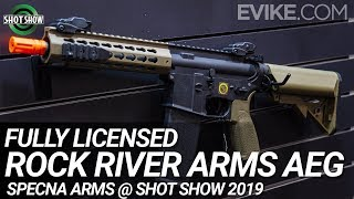 Fully Licensed Rock River Arms AEG by Specna Arms - Shot Show 2019