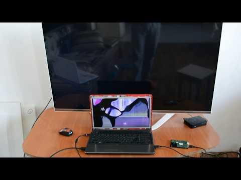 Как переключить ноутбук на внешний монитор если разбит экран