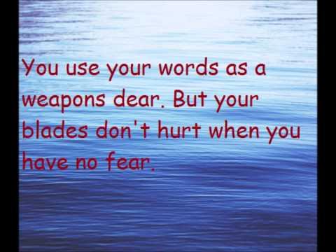 Words as weapons (Lyrics) Birdy