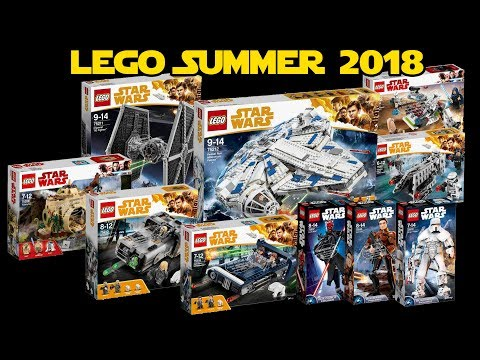 LEGO Star Wars Summer Sets for Han Solo Movie & More