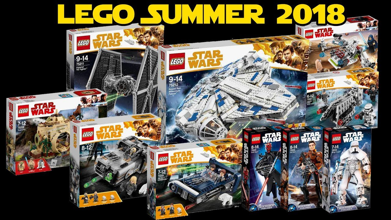 2018 LEGO Star Wars Summer Sets for Han Solo Movie   More - YouTube 1c551bb65