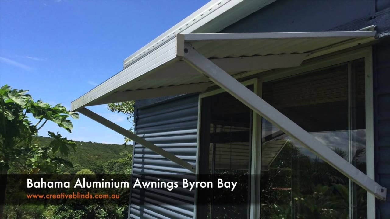 Creative Blinds and Awnings Bahama Aluminium Awning Byron ...