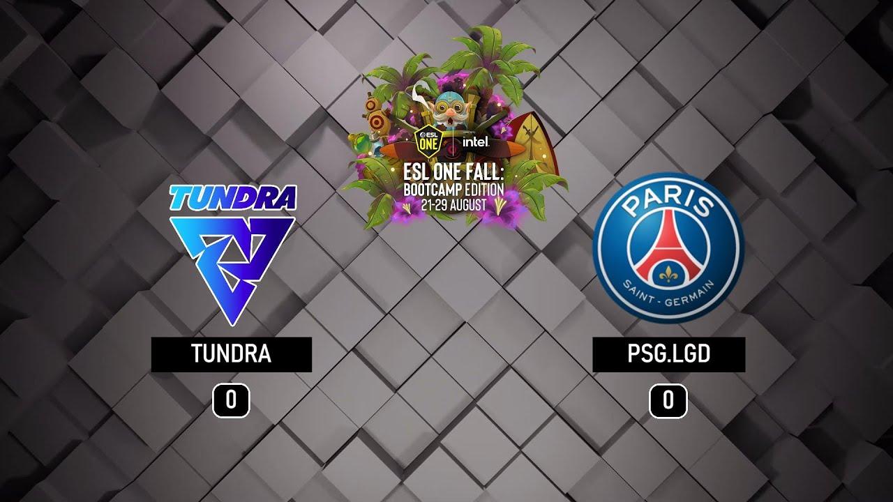 ESL ONE FALL: Edición Bootcamp GRAN FINAL - Tundra vs PSG.LGD