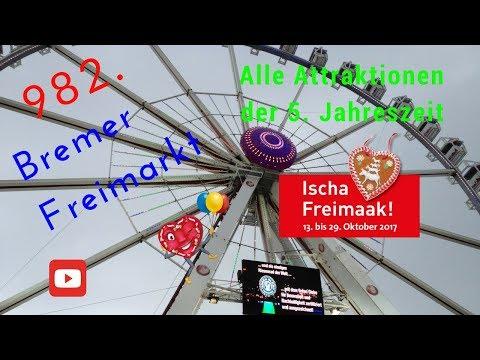 Bremer Freimarkt 2017 - Alle Attraktionen der 5. Jahreszeit