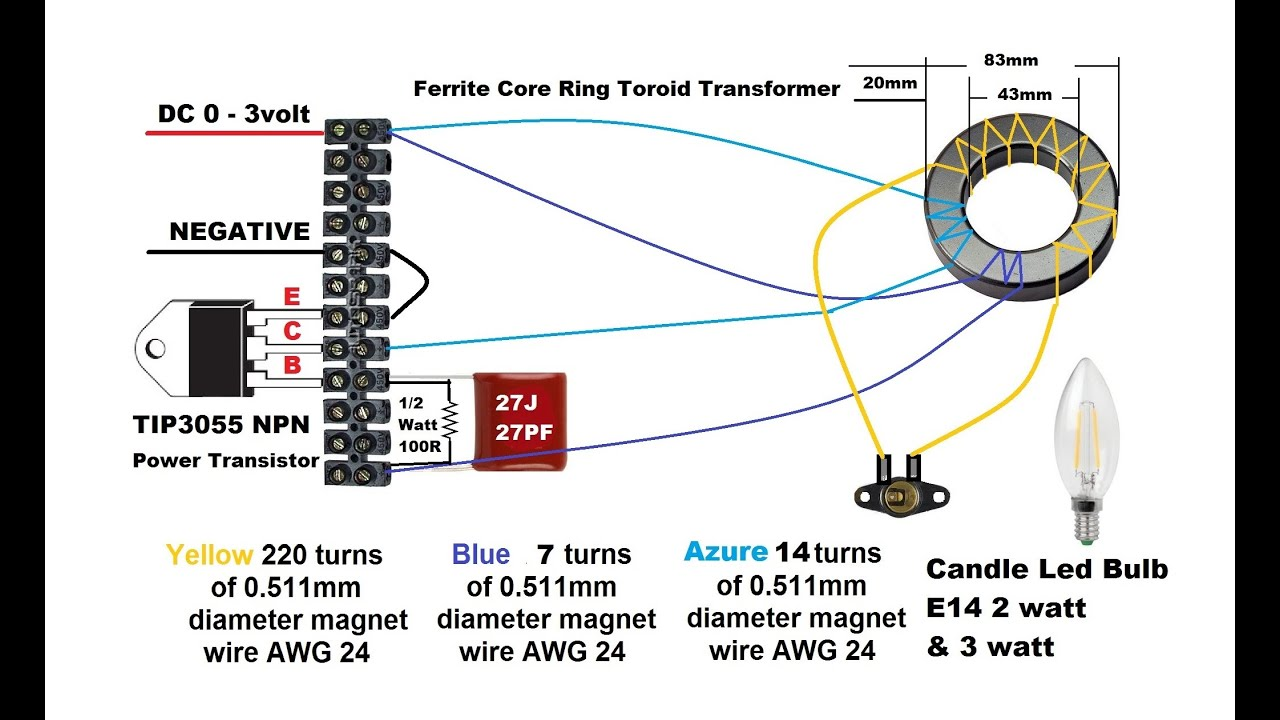 Dc To Ac Inverter Diagram Viper 5101 Remote Start Wiring How Make Simple 3 Doovi
