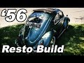 """Classic VW BuGs Completed 1956 Oval Rag """"Build-A-BuG"""" Beetle Resto Project"""