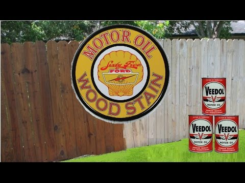 Motor Oil Stain Shed From Free Pallets Part 3 Doovi