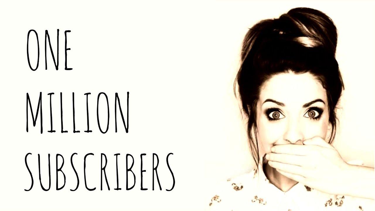 1 MILLION SUBSCRIBERS! | Zoella - YouTube