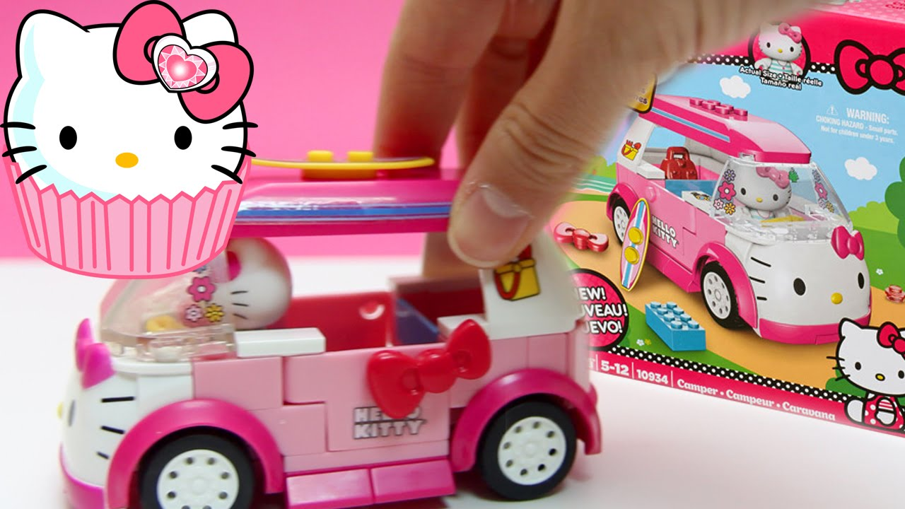 Hello Kitty Mega Bloks Hello Kitty Camper Van Caravana Lego Duplo ...