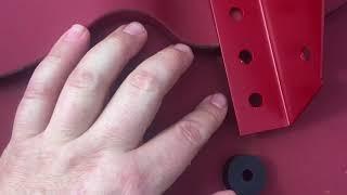 видео Монтаж снегозадержателей: на металлочерепицу