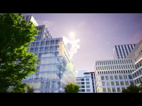 3D real time visualisation of a development in Warsaw